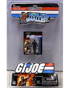 SUPER IMPULSE WORLD'S SMALLEST MICRO ACTION FIGURES G.I.JOE VS COBRA SNAKE EYES