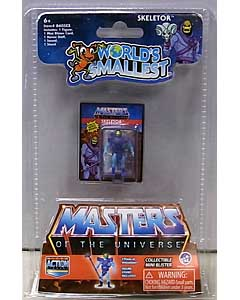 SUPER IMPULSE WORLD'S SMALLEST MICRO ACTION FIGURES MASTERS OF THE UNIVERSE SKELETOR