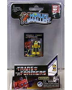 SUPER IMPULSE WORLD'S SMALLEST MICRO ACTION FIGURES TRANSFORMERS G1 BUMBLEBEE