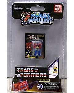 SUPER IMPULSE WORLD'S SMALLEST MICRO ACTION FIGURES TRANSFORMERS G1 OPTIMUS PRIME