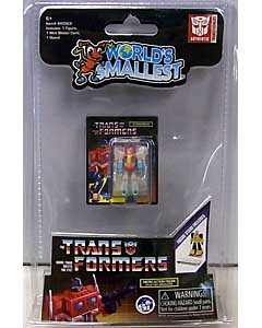 SUPER IMPULSE WORLD'S SMALLEST MICRO ACTION FIGURES TRANSFORMERS G1 STARSCREAM