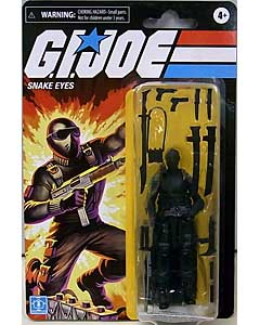 HASBRO G.I.JOE WALMART限定 3.75インチアクションフィギュア RETRO COLLECTION SNAKE EYES