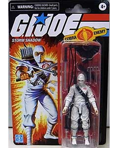 HASBRO G.I.JOE WALMART限定 3.75インチアクションフィギュア RETRO COLLECTION STORM SHADOW