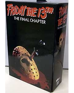 NECA FRIDAY THE 13TH THE FINAL CHAPTER 7インチアクションフィギュア ULTIMATE JASON VOORHEES