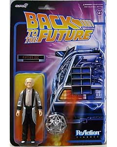 SUPER 7 REACTION FIGURES 3.75インチアクションフィギュア BACK TO THE FUTURE WAVE 2 FIFTIES DOC