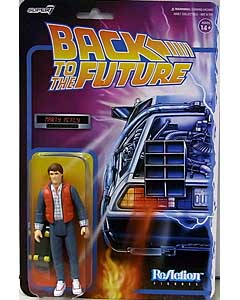 SUPER 7 REACTION FIGURES 3.75インチアクションフィギュア BACK TO THE FUTURE WAVE 2 MARTY McFLY