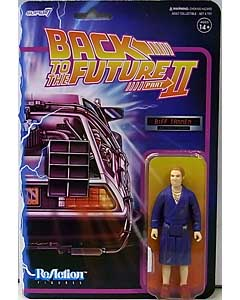 SUPER 7 REACTION FIGURES 3.75インチアクションフィギュア BACK TO THE FUTURE PART II WAVE 1 BIFF TANNEN [BATHROBE]