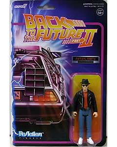 SUPER 7 REACTION FIGURES 3.75インチアクションフィギュア BACK TO THE FUTURE PART II WAVE 1 MARTY McFLY [1950s]