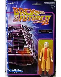 SUPER 7 REACTION FIGURES 3.75インチアクションフィギュア BACK TO THE FUTURE PART II WAVE 1 DOC BROWN [FUTURE]