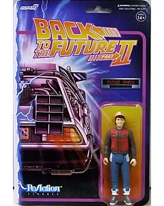SUPER 7 REACTION FIGURES 3.75インチアクションフィギュア BACK TO THE FUTURE PART II WAVE 1 MARTY McFLY [FUTURE]