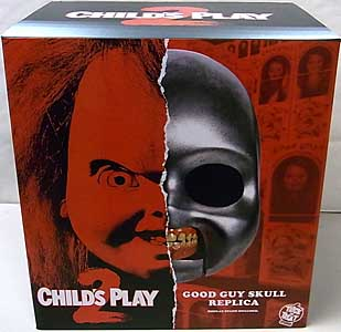 TRICK OR TREAT STUDIOS プロップレプリカ CHILD'S PLAY 2 CHUCKY SKULL GOOD GUY'S SKULL