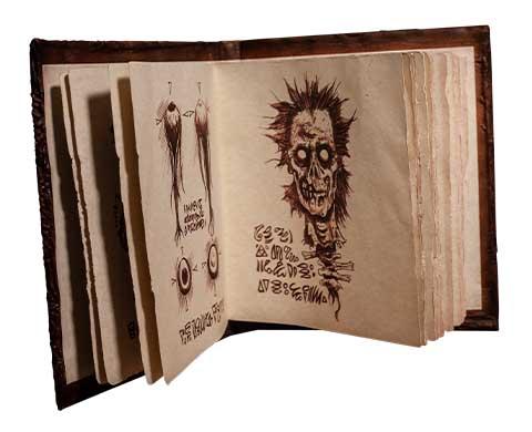 TRICK OR TREAT STUDIOS プロップレプリカ EVIL DEAD 2 BOOK OF THE DEAD NECRONOMICON VER.2