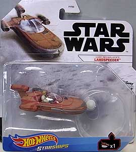 MATTEL HOT WHEELS STAR WARS DIE-CAST VEHICLE 2021 LUKE SKYWALKER'S LANDSPEEDER