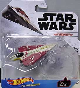 MATTEL HOT WHEELS STAR WARS DIE-CAST VEHICLE 2021 OBI-WAN KENOBI'S JEDI STARFIGHTER