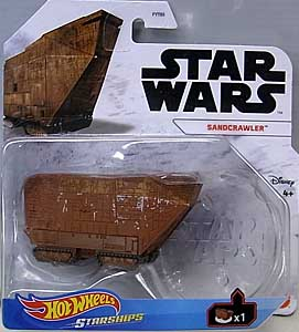 MATTEL HOT WHEELS STAR WARS DIE-CAST VEHICLE 2021 SANDCRAWLER