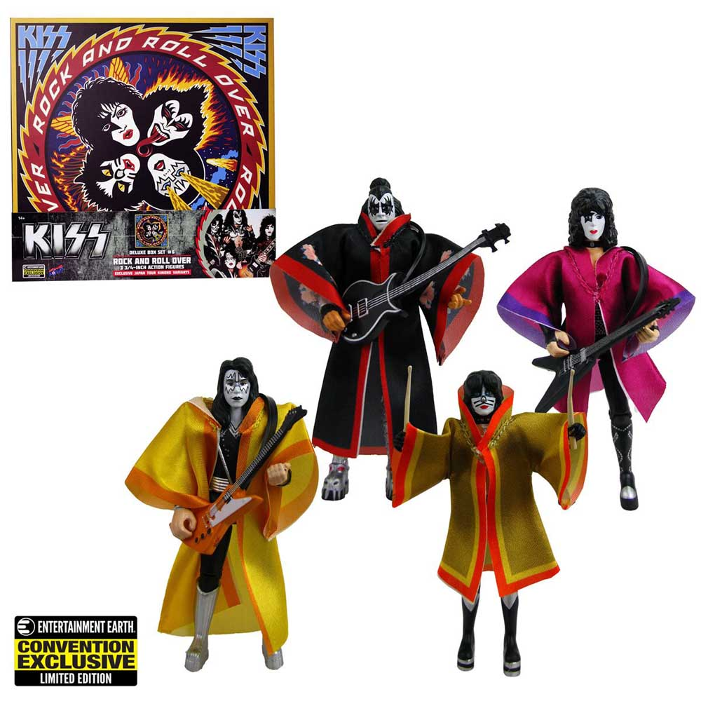 BIF BANG POW! KISS ROCK AND ROLL OVER 3.75インチアクションフィギュア DELUXE BOX SET [CONVENTION EXCLUSIVE]