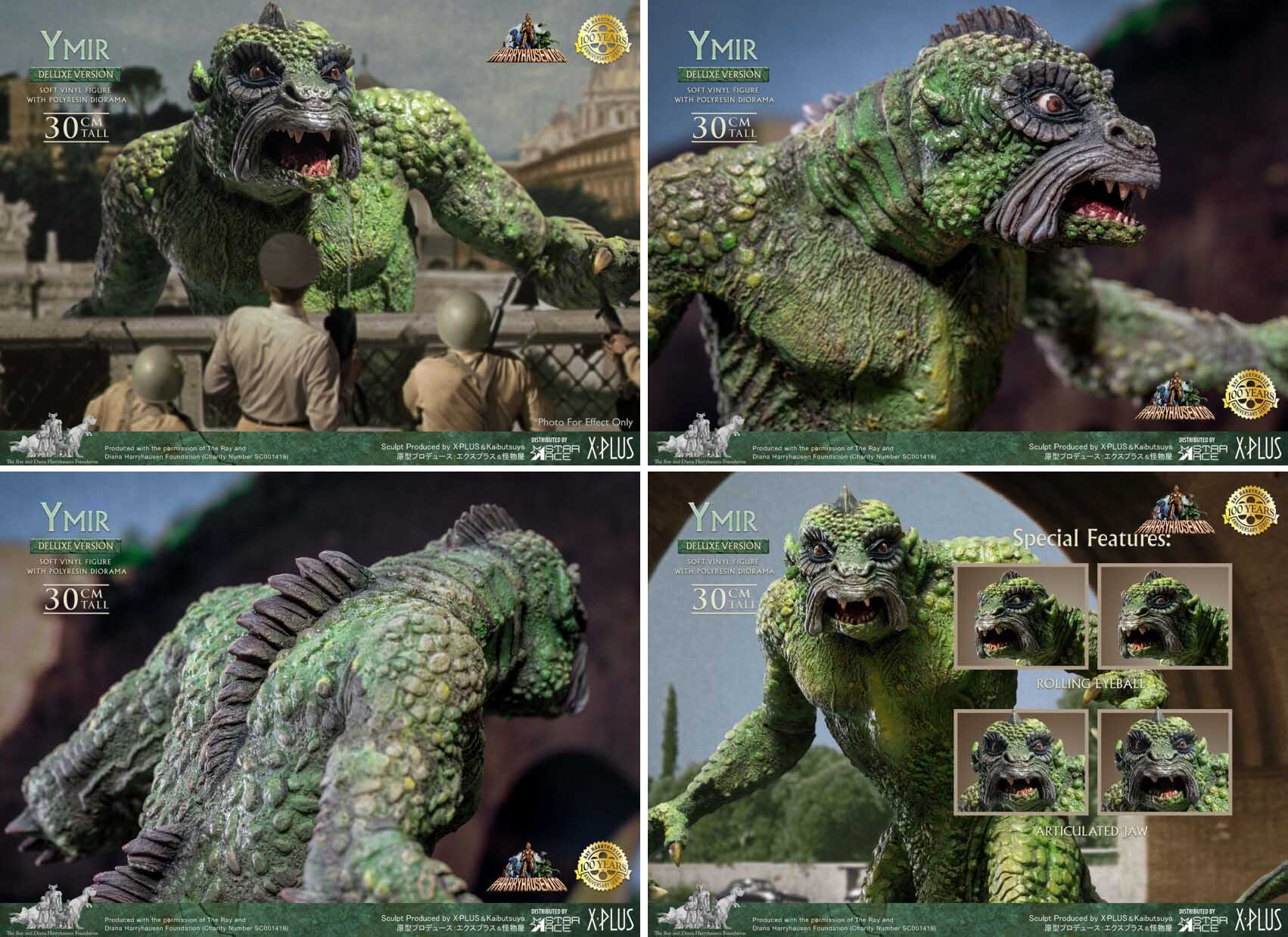 STAR ACE 20 MILLION MILES TO EARTH YMIR SOFT VINYL STATUE [DELUXE VERSION]