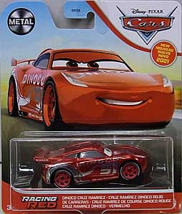 MATTEL CARS 2021 シングル DINOCO CRUZ RAMIREZ [RACING RED]