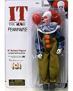 MEGO 8INCH ACTION FIGURE IT [1990] PENNYWISE [BURNT FACE]