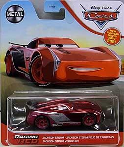 MATTEL CARS 2021 シングル JACKSON STORM [RACING RED]