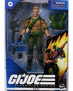 HASBRO G.I.JOE 6インチアクションフィギュア CLASSIFIED SERIES DUKE [REDECO]