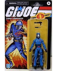 HASBRO G.I.JOE WALMART限定 3.75インチアクションフィギュア RETRO COLLECTION COBRA COMMANDER