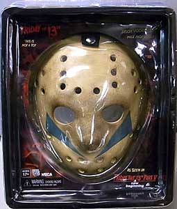 NECA FRIDAY THE 13TH PART V: A NEW BEGINNING JASON MASK PROP REPLICA ブリスター傷み特価