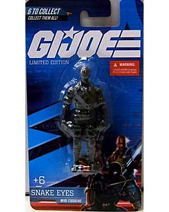 PREXIO G.I.JOE MINI FIGURINE SNAKE EYES