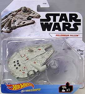 MATTEL HOT WHEELS STAR WARS DIE-CAST VEHICLE 2021 MILLENNIUM FALCON