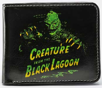 ROCK REBEL BILLFOLD GREEN CREATURE FROM THE BLACK LAGOON