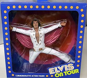 NECA ELVIS PRESLEY 7インチアクションフィギュア LIVE IN '72