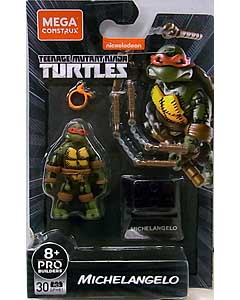 MEGA CONSTRUX MEGA CONSTRUX HEROES 2021 WAVE 3 TEENAGE MUTANT NINJA TURTLES MICHELANGELO