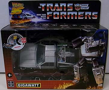 HASBRO TRANSFORMERS BACK TO THE FUTURE 35TH ANNIVERSARY GIGAWATT