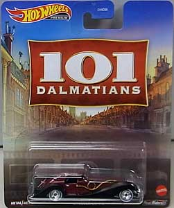 MATTEL HOT WHEELS 1/64スケール 2021 REPLICA ENTERTAINMENT 101 DALMATIANS CRUELLA DE VIL