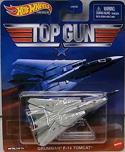 MATTEL HOT WHEELS 1/64スケール 2021 REPLICA ENTERTAINMENT TOP GUN GRUMMAN F-14 TOMCAT [国内版]