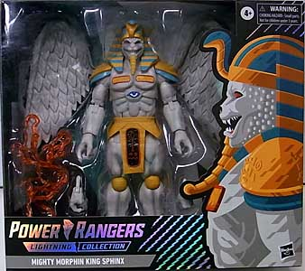 HASBRO POWER RANGERS LIGHTNING COLLECTION TARGET限定 6インチアクションフィギュア MIGHTY MORPHIN KING SPHINX [SPECTRUM PACKAGE]
