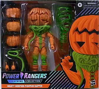 HASBRO POWER RANGERS LIGHTNING COLLECTION TARGET限定 6インチアクションフィギュア MIGHTY MORPHIN PUMPKIN RAPPER [SPECTRUM PACKAGE]