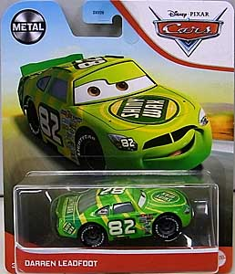 MATTEL CARS 2021 シングル DARREN LEADFOOT