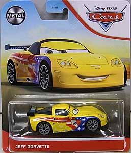 MATTEL CARS 2021 シングル JEFF GORVETTE