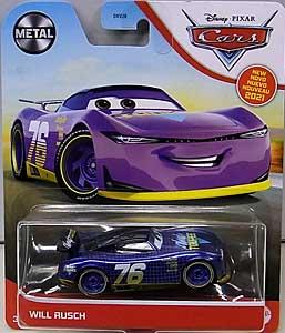 MATTEL CARS 2021 シングル WILL RUSCH