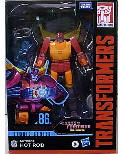 HASBRO TRANSFORMERS STUDIO SERIES VOYAGER CLASS AUTOBOT HOT ROD #86-04
