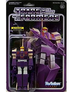 SUPER 7 REACTION FIGURES 3.75インチアクションフィギュア TRANSFORMERS WAVE 3 BLITZWING