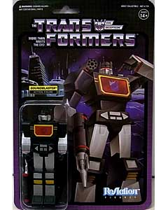 SUPER 7 REACTION FIGURES 3.75インチアクションフィギュア TRANSFORMERS SOUNDBLASTER