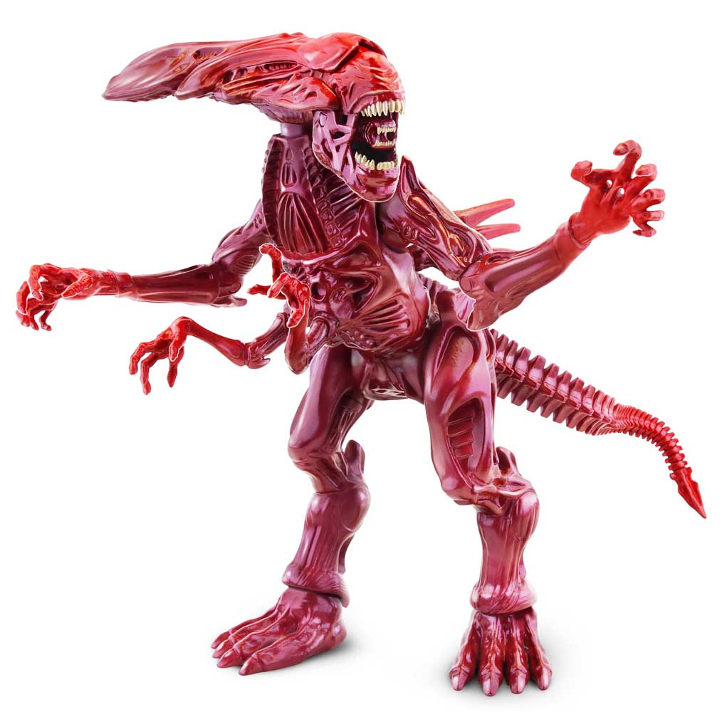 LANARD TOYS ALIEN COLLECTION GIANT POSEABLE ACTION CREATURE ALIEN QUEEN [RED] パッケージ破れ特価