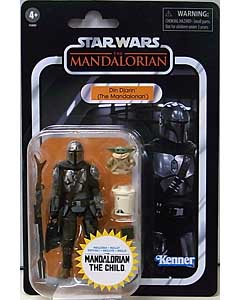 HASBRO STAR WARS WALMART限定 3.75インチアクションフィギュア THE VINTAGE COLLECTION 2021 DIN DJARIN (THE MANDALORIAN) AND THE CHILD [THE MANDALORIAN] VC177
