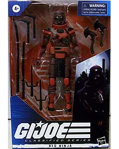 HASBRO G.I.JOE 6インチアクションフィギュア CLASSIFIED SERIES RED NINJA