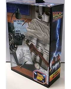 NECA BACK TO THE FUTURE 7インチアクションフィギュア BACK TO THE FUTURE ULTIMATE DOC BROWN ワケアリ特価