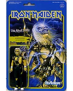 SUPER 7 REACTION FIGURES 3.75インチアクションフィギュア IRON MAIDEN EDDIE [LIVE AFTER DEATH]