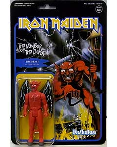 SUPER 7 REACTION FIGURES 3.75インチアクションフィギュア IRON MAIDEN THE BEAST [THE NUMBER OF THE BEAST]