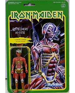 SUPER 7 REACTION FIGURES 3.75インチアクションフィギュア IRON MAIDEN EDDIE [SOMEWHERE IN TIME]